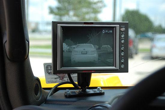 Camera view Thermal Imaging