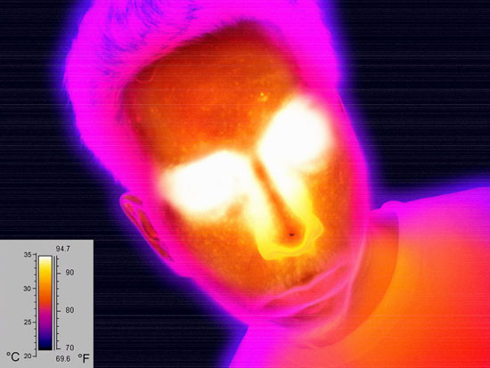 Thermal Imaging portrait