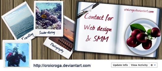 Web designingTimeline Cover