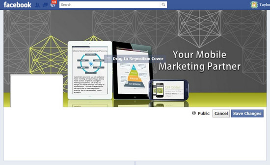 Mobile marketing Timeline Cover