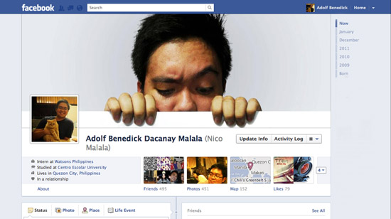 Adolf B Timeline Cover