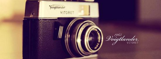 Vintage CameraTimeline Cover