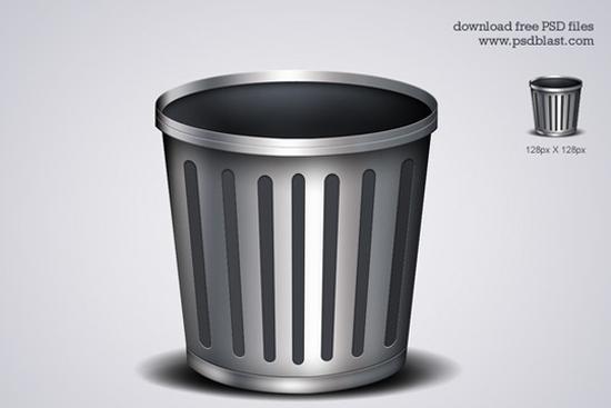 1-Trash Icon