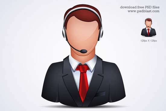 10-Online Customer Support Icon