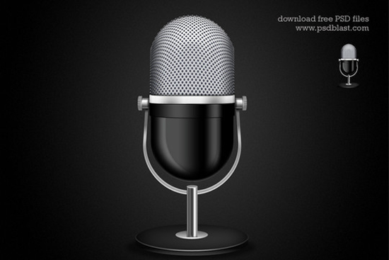 11-Microphone Icon