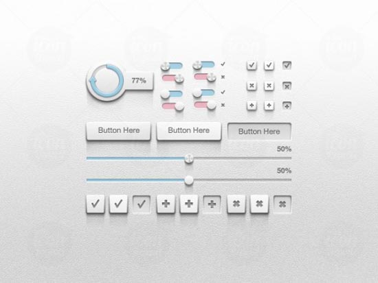 12. Detailed UI Kit