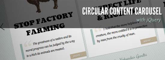 13-Circular Content Carousel with jQuery