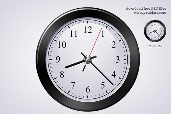 15-Classic Clock Icon