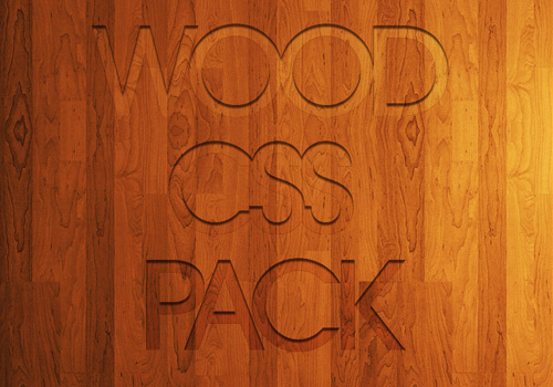 15-Wood CSS Pack