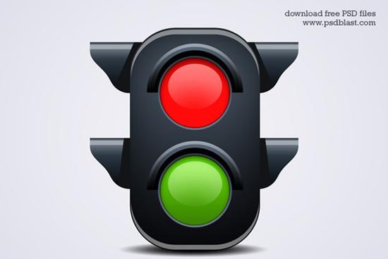 2-Traffic Light Icon