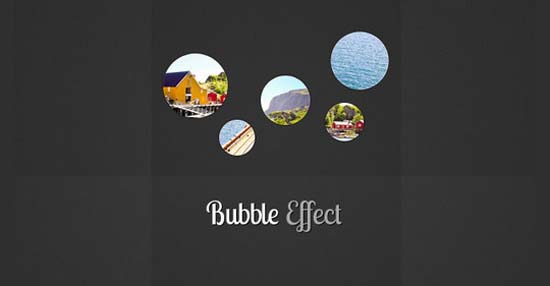 20-Bubble Slideshow Effect with jQuery