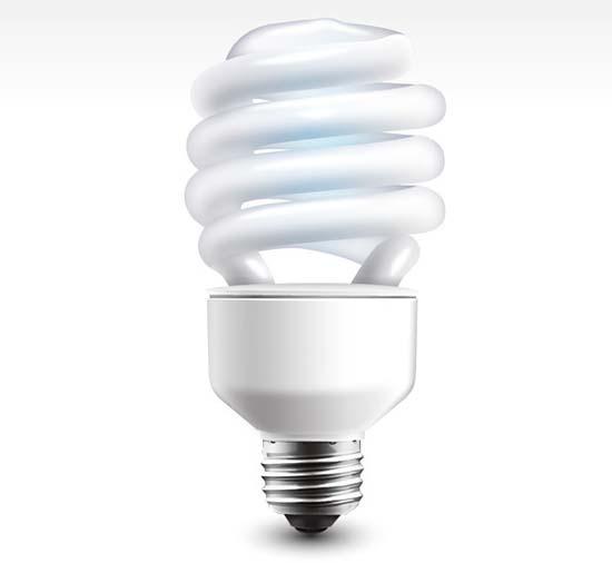 20-Economic Lamp Free PSD Graphic