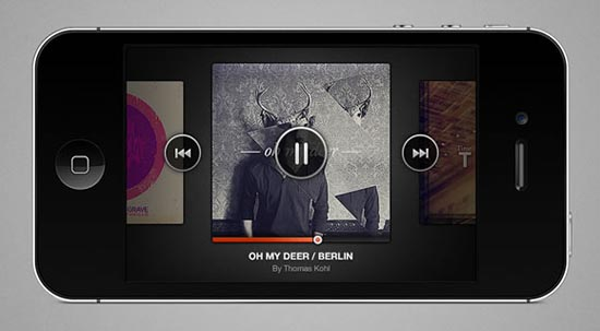 20-iPhone Music Player