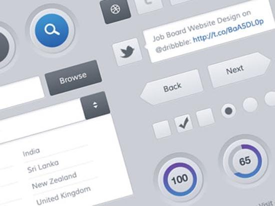 22-Mobile and Web UI Kit