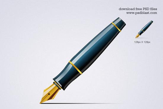3-Pen Icon