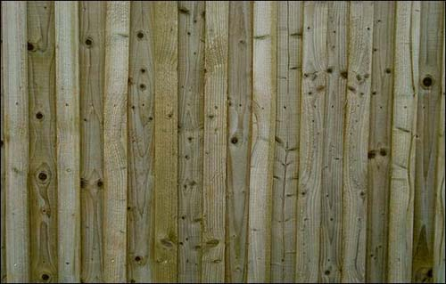 39-Wood fence panels