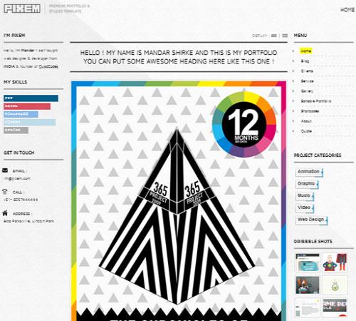 9-Pixem-portfolio-wp-themes