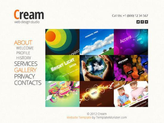 Animated Web Design Studio Template