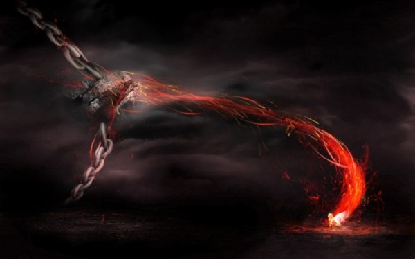Create a Surreal Magical Power Unleashed scene in photoshop