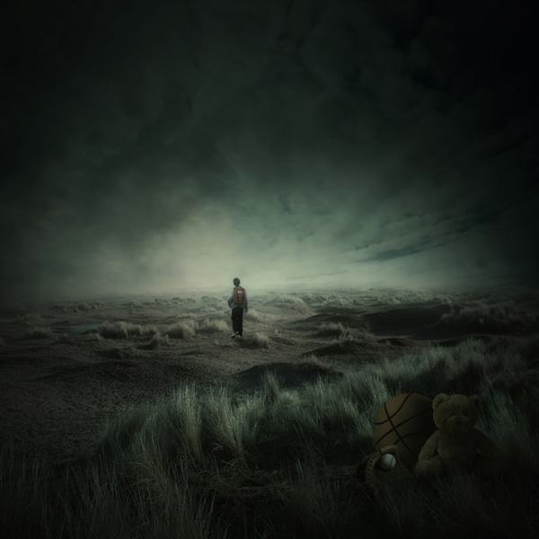 Dark, Atmospheric Photo Manipulation
