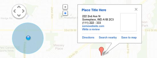 Google Maps UI Kit Freebie