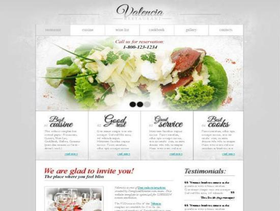 Restaurant Business Template