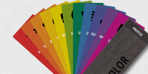 Swatch Book With CSS3 and jQuery
