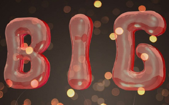 3D Balloons Text Effect