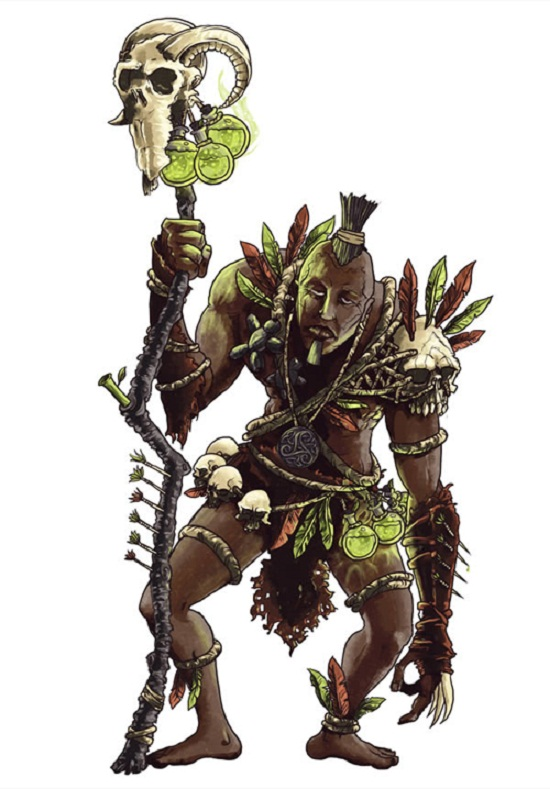 Creating a Witch Doctor Character