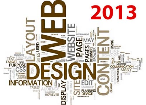 Expected Web Design Trends in 2013