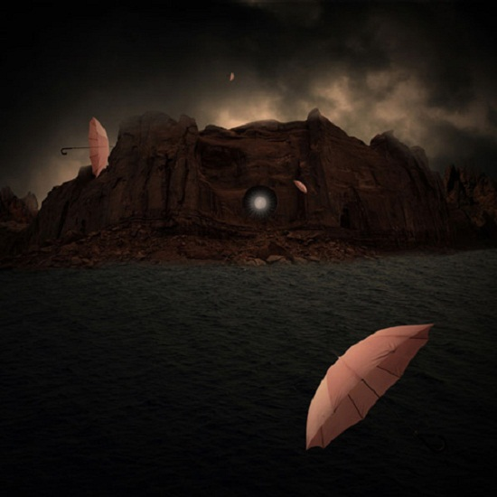 Make a conceptual surreal photo-manipulation