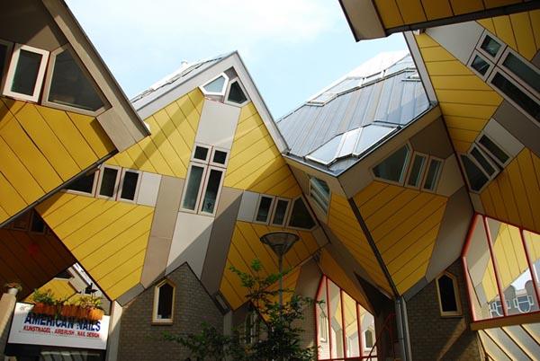 Cubic Houses (Kubus woningen) (Rotterdam, Netherlands)
