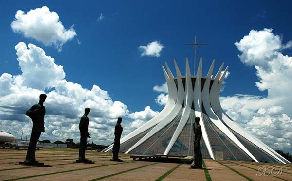 Cathedral of Brasilia (Brazil)