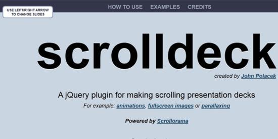 scrolldeck