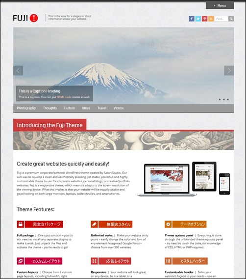 13-fuji-responsive-wordpress-theme