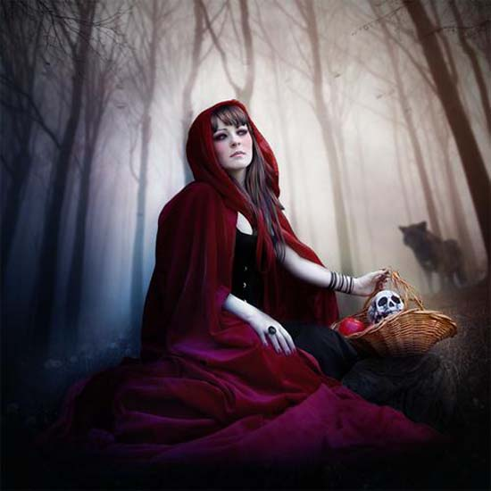 15-RED RIDING HOOD ARTWORK