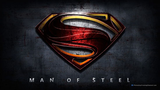 17-Man Of Steel Movie Poster Tutorial