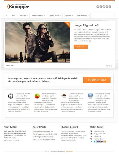 19-swagger-simple-wordpress-theme
