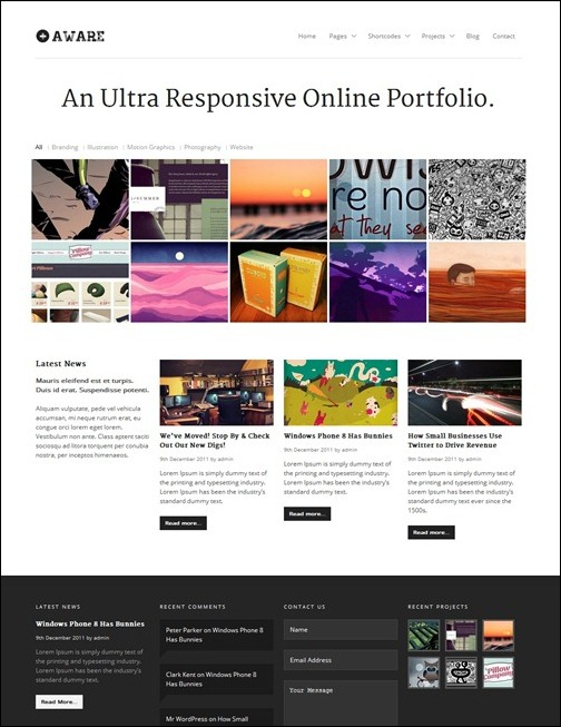 22aware-responsive-simple-theme