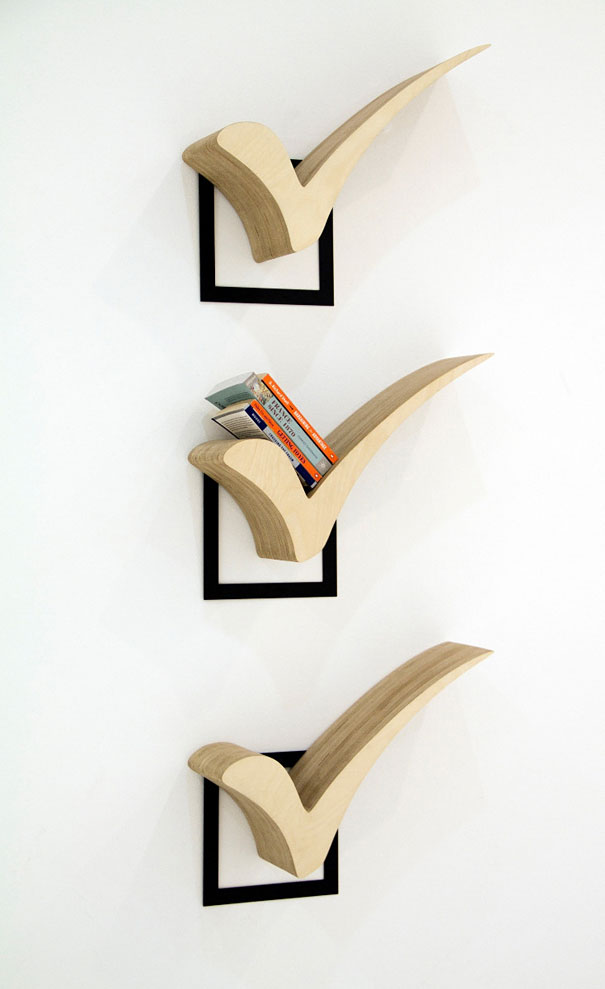 30 unusual and creative bookshelf designs