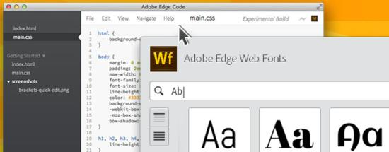 Adobe Edge Free Web Fonts