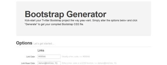 Bootstrap Generator