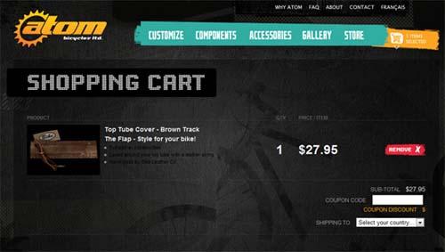 Convenient Cart Page