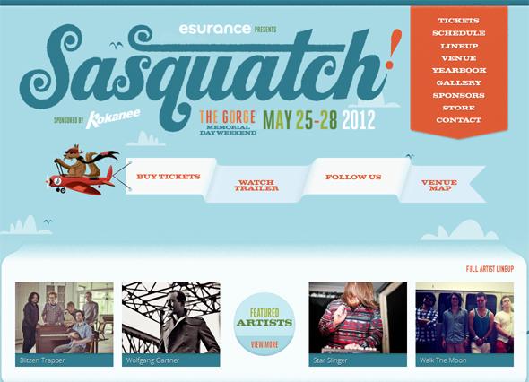 Sasquatchfestival.com