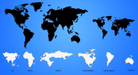 World map vector png new geo map software map of world single color world map gumiabroncs Image collections