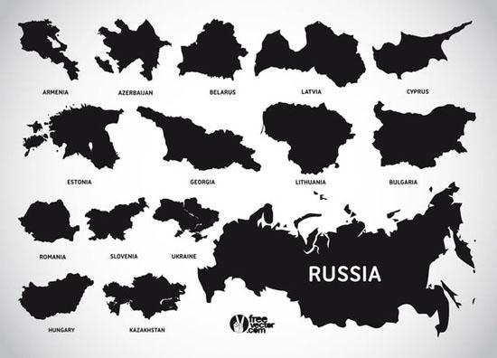 European Countries</a>(.ai, .eps & .svg)