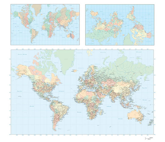 Vector Maps of the World</a> (.ai)