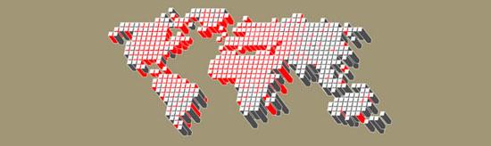 Vector Tech Map (.eps format)
