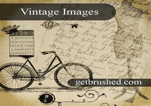 Vintage Picture Brushes