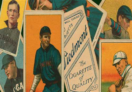 Vintage Baseball Card Brushes